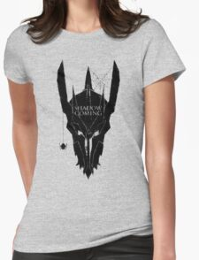 Shadow is coming Womens Fitted T-Shirt