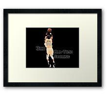 Kobe Bryant  3rd All Time Scoring NBA Lakers Framed Print