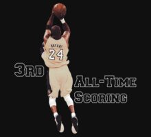 Kobe Bryant  3rd All Time Scoring NBA Lakers by Givens87