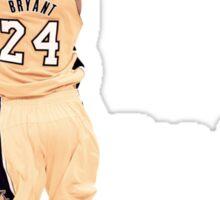 Kobe Bryant  3rd All Time Scoring NBA Lakers Sticker