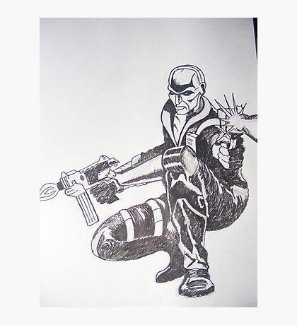 G I Joe's Destro Photographic Print