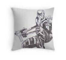 G I Joe's Destro Throw Pillow
