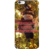 Merry Christmas Card for You iPhone Case/Skin