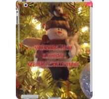 Merry Christmas Card for You iPad Case/Skin