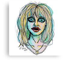 Big Bright Blue Eyes Canvas Print