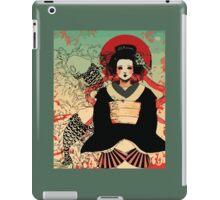 Geisha antique japan iPad Case/Skin