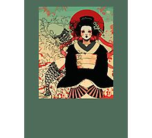 Geisha antique japan Photographic Print