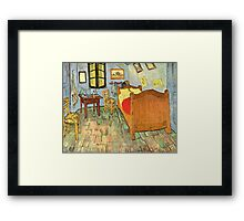 'Van Gogh's Bedroom' by Vincent Van Gogh (Reproduction) Framed Print