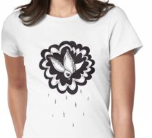 Raining Bird Womens Fitted T-Shirt
