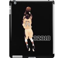 Kobe Bryant  All Time Scoring 32310  iPad Case/Skin