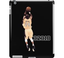 Kobe Bryant  All Time Scoring 32310  iPad Case/Skin