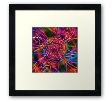 abstract one Framed Print