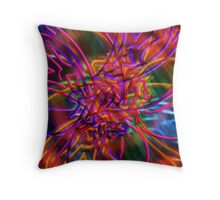 abstract one Throw Pillow