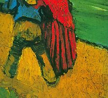 'Two Lovers' by Vincent Van Gogh (Reproduction) by Roz Abellera Art Gallery