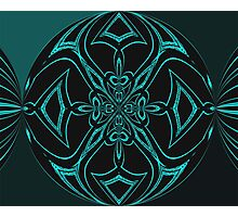 teal Photographic Print