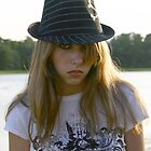 Girl with Hat by Adria Bryant