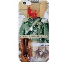 EL REY CONCILIADOR (the conciliator king) iPhone Case/Skin