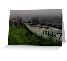 A Fishery to Remember... Greeting Card