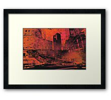 AFTER THE WAR Framed Print