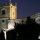 Floodlit church by scooby29