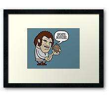 Sportsmanlike Framed Print