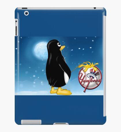 Penguin Relief iPad Case/Skin
