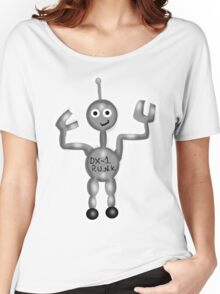 Robot Punk Women's Relaxed Fit T-Shirt
