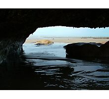 Under The Rocks Photographic Print