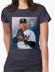 New York Yankees - Mariano Rivera Womens Fitted T-Shirt