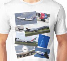 Aircraft Compilation Unisex T-Shirt