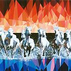 Prismatic Stampede 1993 by Joseph Barbara