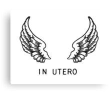 IN UTERO Canvas Print
