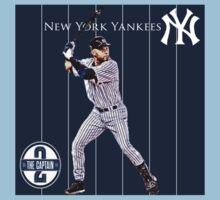 New York Yankees Captain Derek Jeter Kids Clothes