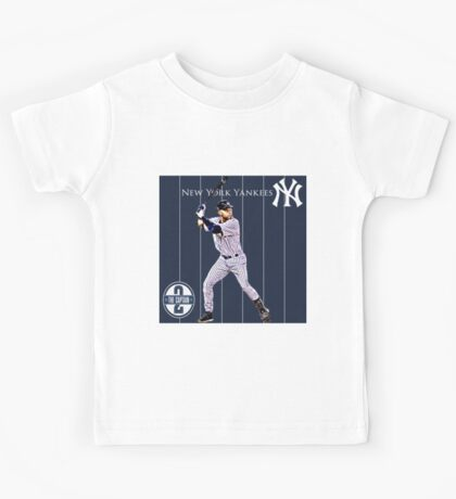 New York Yankees Captain Derek Jeter Kids Tee