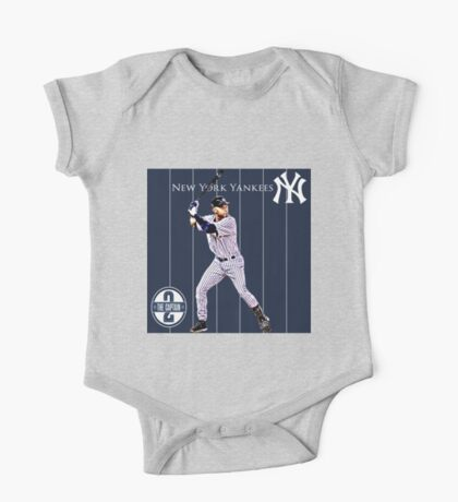 New York Yankees Captain Derek Jeter One Piece - Short Sleeve