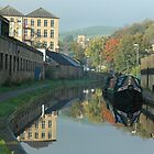 Huddersfield Narrow Canal, Slaithwaite by Mark Curry