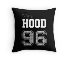 Mrs. Hood 96 black Throw Pillow