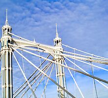 Albert Bridge by frankmedrano