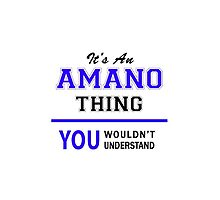 It's an AMANO thing, you wouldn't understand !! by allnames
