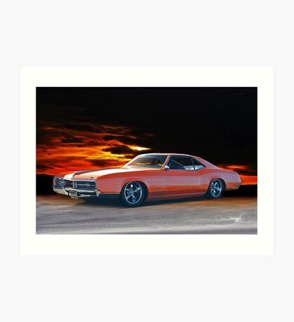 1966 Buick Riviera Custom Art Print