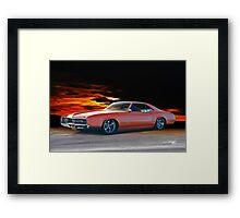 1966 Buick Riviera Custom Framed Print