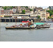 The Kingswear Castle  Photographic Print