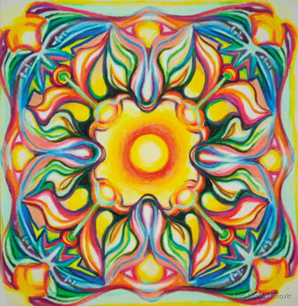 Sun Celebration Mandala by Lim-Lim Andonovic