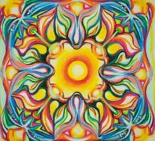 Sun Celebration Mandala by Lim-Lim Andonovic