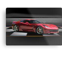 2014 Chevrolet Corvette 'Showroom' Metal Print