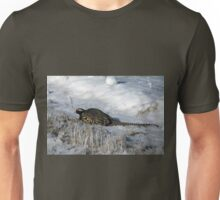 Rooster Pheasant in the snow Unisex T-Shirt
