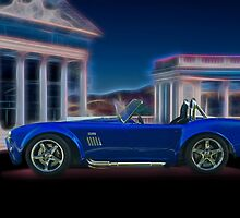 1966 Shelby Cobra 427 cu in 'Profile' by DaveKoontz