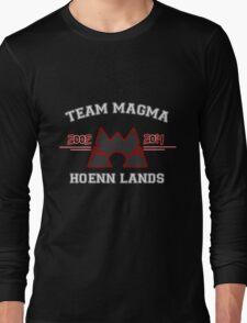 Team Magma Long Sleeve T-Shirt