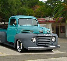 1950 Ford Pickup Truck by DaveKoontz