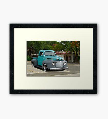 1950 Ford Pickup Truck Framed Print